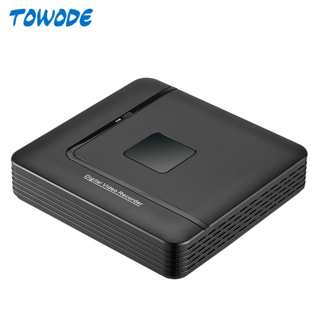 Towode 15V PoE NVR מקליט Motion Detect מעורר מעקב NVR 4CH 1080P עם 4CH PoE נמל עבור טלוויזיה במעגל סגור DVR ערכת מצלמה