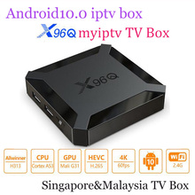 2020 najnowszy X96Q Android 10.0 smart TV Box allwinner H313 czterordzeniowy 2G 16GB 4K 3D wsparcie Mytv pro dla SG mój odtwarzacz multimedialny