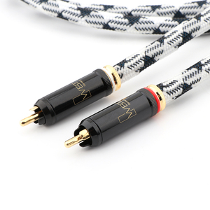 Image 5 - JIB HF 001A Interconnect cable audio RCA cable with SC WBT connection plugs 1.5m