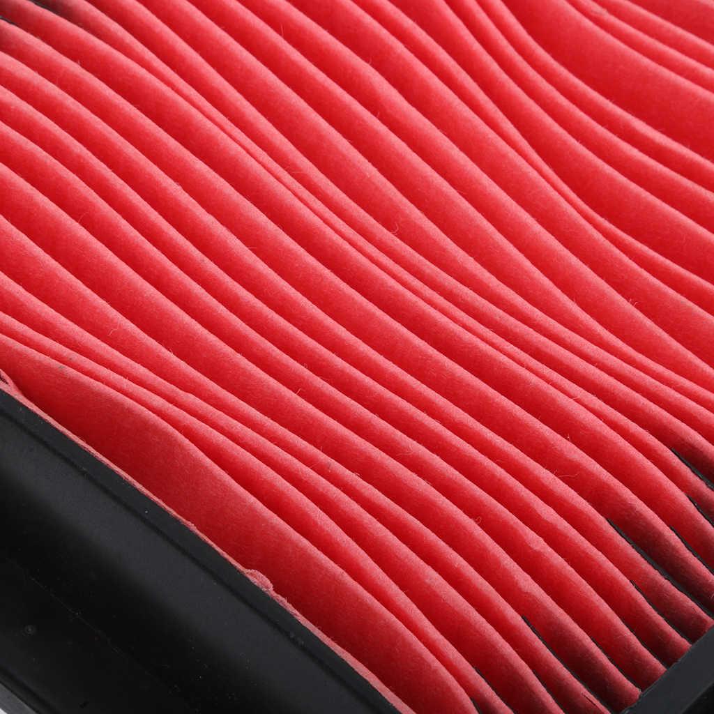 1 قطعة دراجة نارية الهواء منظف المرشّح عنصر لهوندا NV400 Steed VT600 البلاستيك ورق فلتر 7.6x7.7 بوصة