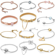 Kakany sterling charme 2020 primavera nova primavera jardim clássico charme com pulseira original 1:1 de alta qualidade jóias moda