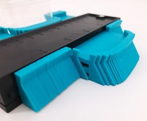 Image 4 - Calibro Contorno Profilo Copia Duplicatore Calibro di Plastica Standard di 5 Larghezza Legno Marcatura Strumento di Piastrelle Laminato Piastrelle Generale Strumenti di Nastro