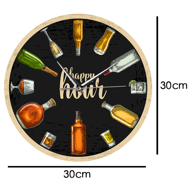 Happy Hour Wall Clock 4