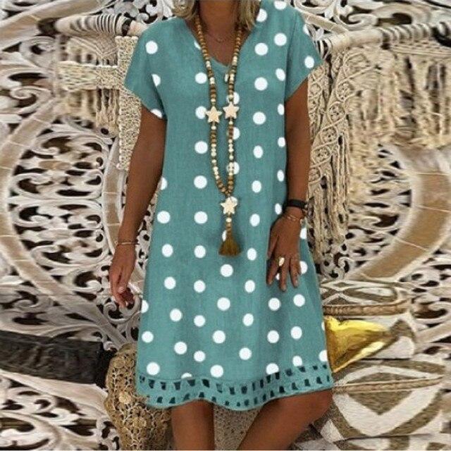polka dot dress, work or play 4