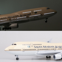 1/150 Scale 47CM Airplane Airbus B787 American airlines Model W LED Light and Wheel Diecast Plastic Resin Plane Collection Gift