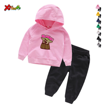 Baby Yoda Funny Children Boys Girls Clothing Cotton Long Sleeve Letter Sets Kids Clothes Tracksuit Baby T-Shirt Pants 2 Pcs/Suit baby boys clothing set cotton 2 pcs boy costume long sleeve boy sport suit tiger pattern kids clothes tracksuit harem pants 0 8t