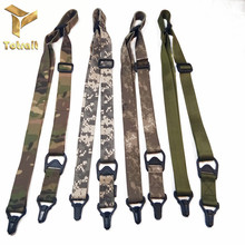 цена на TOtrait MS3 Sling Hunting Dual 2 Points Rifle Tactical Shooting gun Nylon Multi-function Shooting Outdoor Hunting Accessories