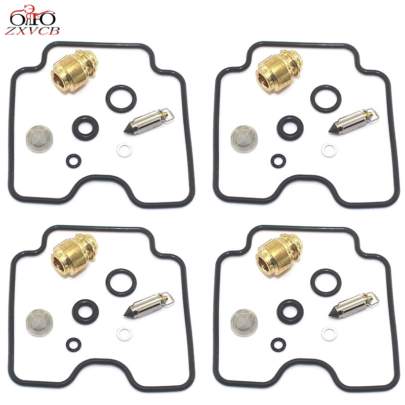 for FZS600 FZS <font><b>600</b></font> <font><b>Fazer</b></font> 1998-<font><b>2003</b></font> Motorcycle carburetor repair kit needle valve seat floating needle gasket image