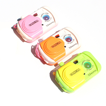 1pc kamera projekcyjna plastikowa kamera zabawki zabawki edukacyjne dla dzieci symulacja zabawki plastikowe zabawki prezent dla dziewcząt chłopców tanie i dobre opinie Z tworzywa sztucznego CN (pochodzenie) 13-24 miesięcy 2-4 lat IZ188279 Keep away from fire Unisex color randomly Plastic Camera Toys