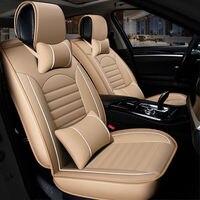 2020 New Custom Leather Four Seasons For Subaru forester impreza Outback Tribeca heritage xv Car Seat Cover Cushion