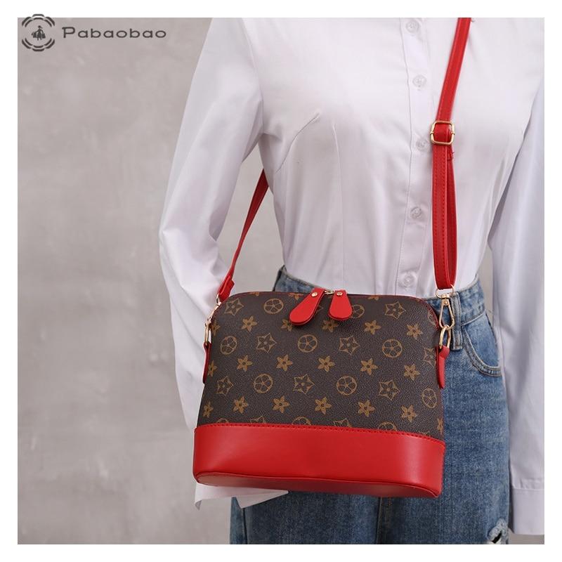 Pabaobao Small Shell Bag for Womrn 2019 Ladies Luxury Crossbody Shoulder with waterproof PU bolsa feminina Dropship