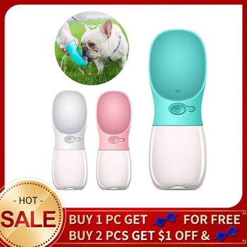 Portable Pet Dog Water Bottle dog bowl For Small Large Dogs Puppy Cat Drinking Outdoor Pet Water Dispenser Feeder Accessories