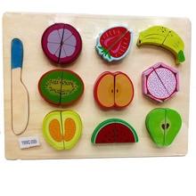 Детские развивающие игрушки, ролевые игры, деревянные кухонные игрушки, подарок на день рождения для детей, мальчиков и девочек(отправка в случайном порядке