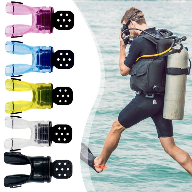 Non-toxic Safe Dive Mouthpiece Scuba Diving Breath Moldable Bite Mouthpiece Outdoor Diving Swimming Tools 5 Colors