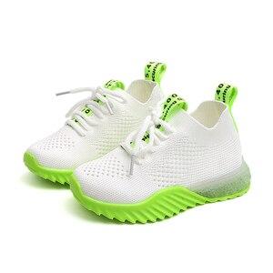 Image 3 - Chaussures enfants garçons décontracté enfants baskets pour garçons en cuir de mode Sport enfants baskets 2019 printemps automne enfants chaussures