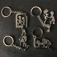 Lovers' Appeal key chain Male sex organ Car keychains motorcycle Keyring for ford Chevrolet Benz scania BMW trd alfa romeo niva