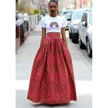 ¡Novedad de 2019! Faldas de moda Vintage con estampado Floral, vestidos africanos para mujer, vestido tutú Bazin Dashiki, ropa a la moda, ropa Riche