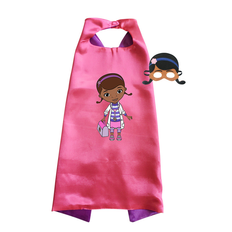 Child Doc Mcstuffins Costume Girls Halloween Costumes For Kids Birthday Gifts