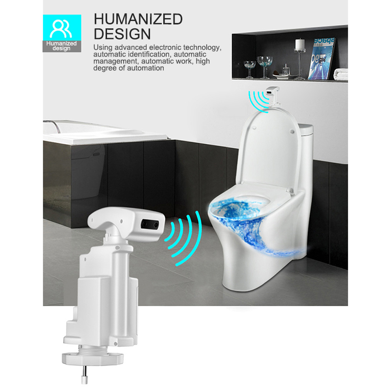 New Bathroom Toilet Urinal Flusher Automatic Infrared Sensor Smart Touchless Urinal Flush Valve Flusher Toilet Parts
