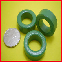 Green ferrite magnetic ring 22*14*8.0mm anti-interference magnetic ring inductance skeleton filter magnetic ring(China)