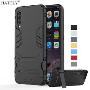 Image 1 - Для samsung Galaxy A50 чехол A20e A40 A70 A30 чехол армированный ТПУ Силиконовый Корпус Жесткий ПК чехол на заднюю панель телефона для samsung Galaxy A50