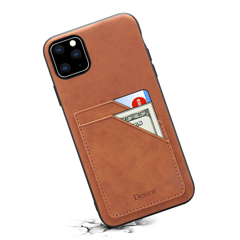 Double Card Leather Case for iPhone 11/11 Pro/11 Pro Max 12