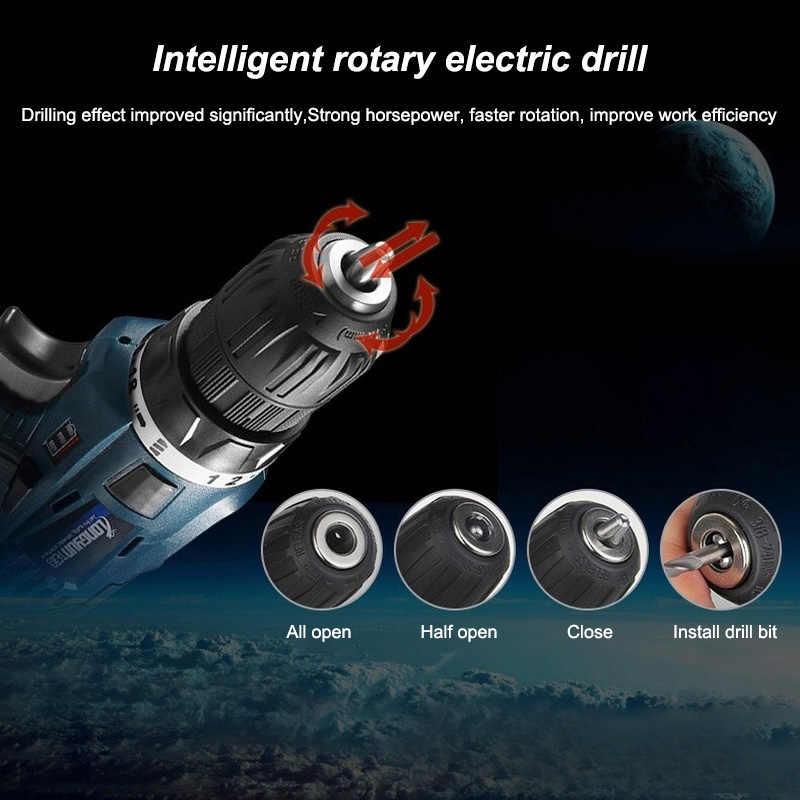 12 v 16.8 v multifunções furadeira elétrica sem fio chave de fenda bateria de lítio mini broca ferramentas elétricas sem fio broca