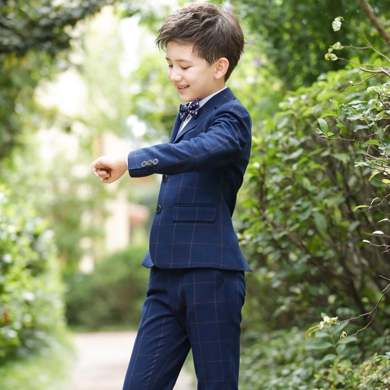 Костюмы для мальчиков на свадьбу, детский Блейзер, костюм для мальчиков, Enfant Garcon Mariage, блейзер для бега, Garcon, британский стиль, смокинг для мальчиков