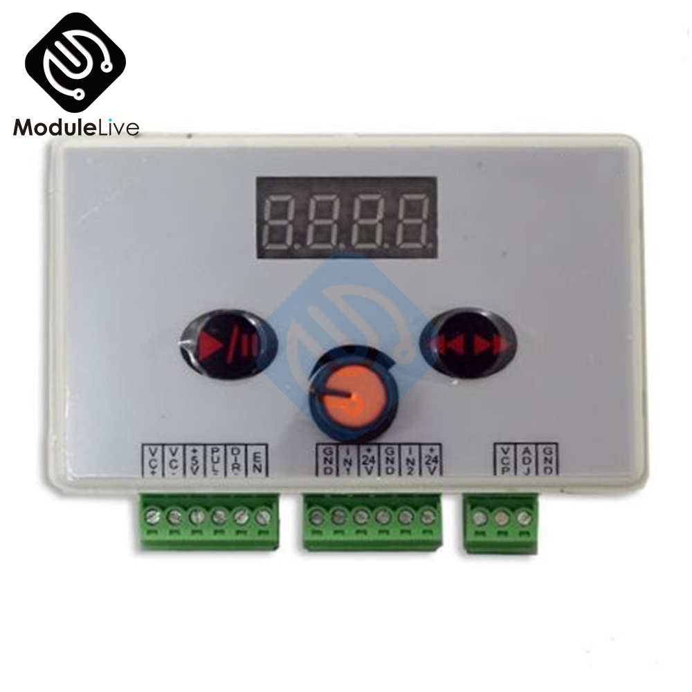 Reversible Stepper DC 12V <font><b>24V</b></font> <font><b>Motor</b></font> Speed <font><b>Controller</b></font> Stepping <font><b>Motor</b></font> Speed Governor Pulse Signal <font><b>Controller</b></font> PWM LED Display New image