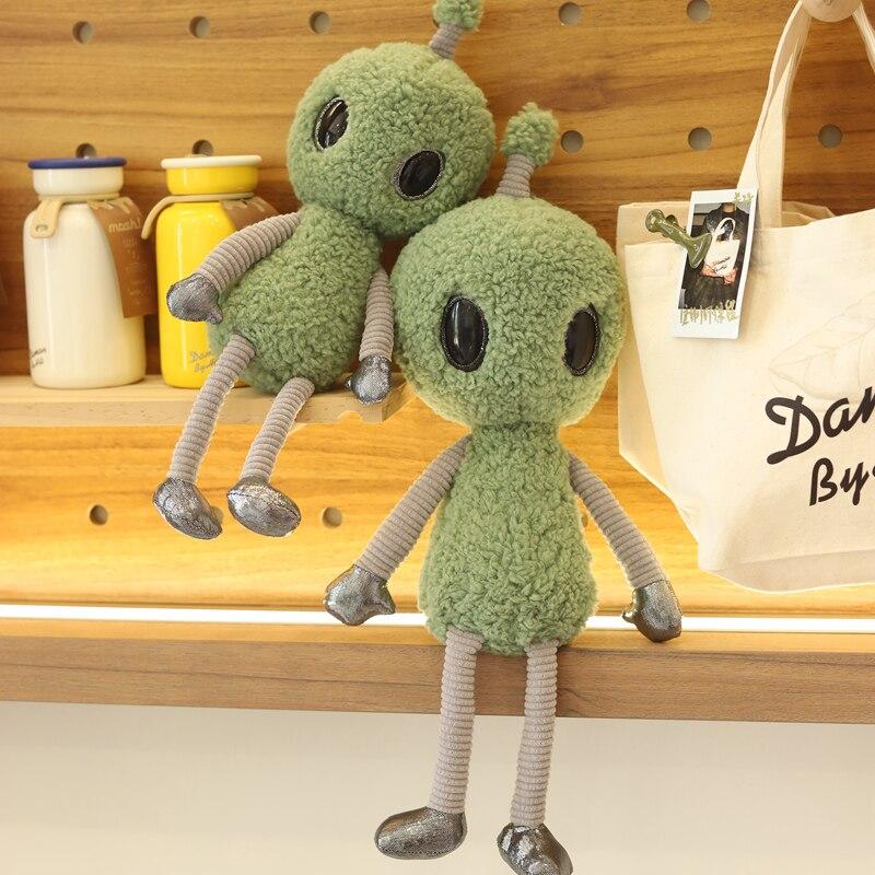 Nouveau 38-68cm ET Alien en peluche coton doux en peluche lextra-terrestre bizarre drôle poupée enfant enfants réaliste cadeau de haute qualité