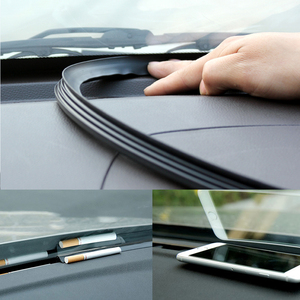Image 3 - 160cm universal sealing windshield sealing board soundproof automobile rubber strip instrument panel seal strip
