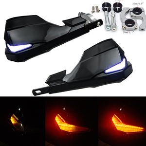 "SX EXC ADV SMR Moto Dirt Bike Motorcross Handlebar LED handguards Hand Guards turn signals 7/8"" 22mm Or 1-1/8 28mm FatBar(China)"