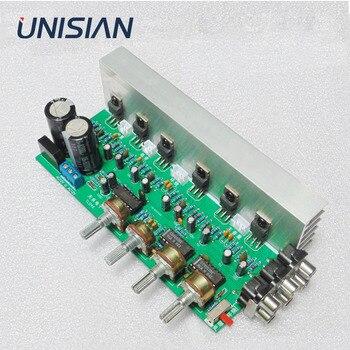 UNISIAN TDA2030 5.1 kanałowa płyta wzmacniacza audio 6*18W 6 kanałów Surround Center Subwoofer wzmacniacze mocy do kina domowego