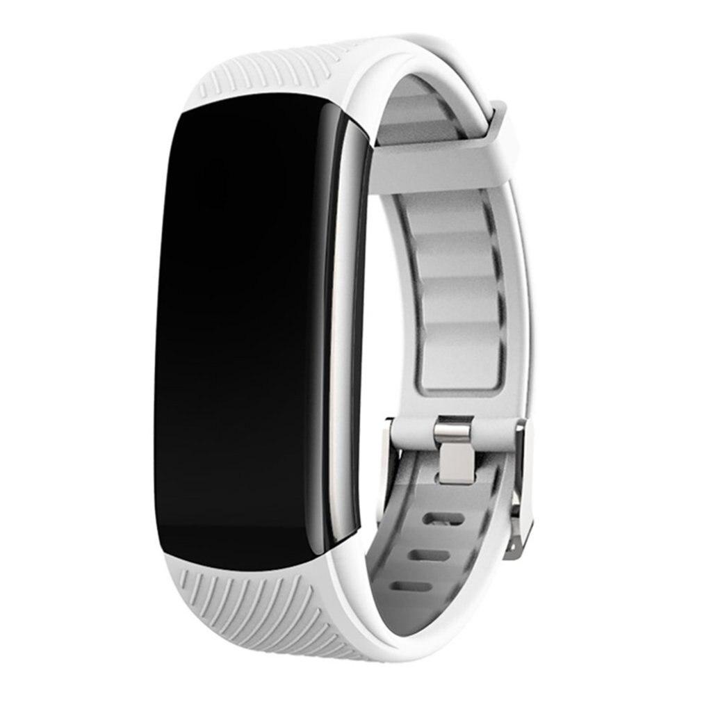 C6T smart bracelet watch TPU Information push Sleep monitoring Exercise pedometer Measuring body temperature