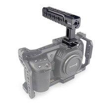 Magicrig câmera lidar com otan alça superior com arri localização buraco/montagem de sapata fria para câmera dslr gaiola filmadora equipamento gaiola