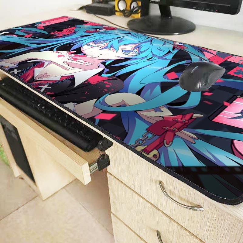Neu Miku Hatsune Vocaloid Anime Manga Mauspad Mousepad 22x18cm 033