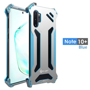 Metal Aluminum For Samsung Galaxy Note10 Plus Case bumper shockproof For Samsung Galaxy s10 S9 S8 Plus e phone Cases cover Funda 1