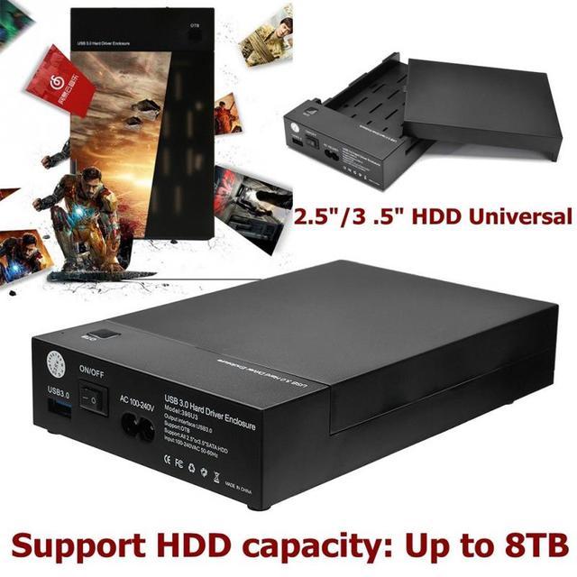 USB 3.0 כונן קשיח Case מארז חיצוני כלי משלוח HDD דיסק 2.5 3.5 SATA