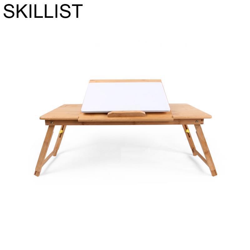 Tavolo Mesa Para Notebook Tisch Lap Adjustable Escritorio Escrivaninha Bed Bambu Tablo Stand Laptop Desk Computer Study Table