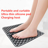 Electric foot massager wireless foot muscle stimulator ABS physiotherapy pedicure foot vibration massage pad