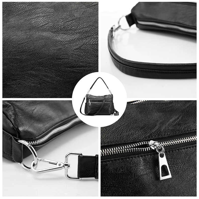 REALER حقائب كتف مصمم حقائب عالية الجودة crossbody حقائب للنساء حقيبة ساع يكون متعددة جيوب للأعمال