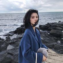 Женское шерстяное пальто Новинка осени и зимы 2020 Корейская