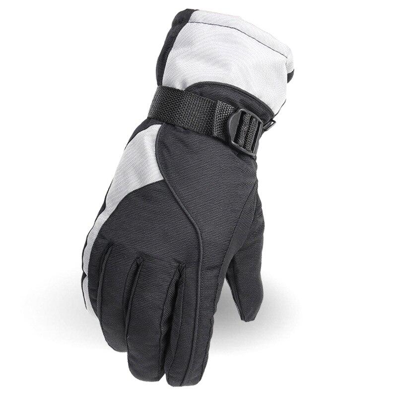 Outdoor Winter Cold Waterproof Riding Warm Cotton Men's Ski Gloves
