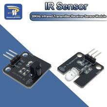1 セット/ロット ir 赤外線送信機モジュール ir デジタル 38 38khz の赤外線受信センサーモジュール arduino の電子ビルディングブロック