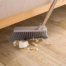 Podłoga w łazience zamiatarka miotła uchwyt ze stali nierdzewnej miotły narzędzia do czyszczenia do domu|Miotły i śmietniczki|   -