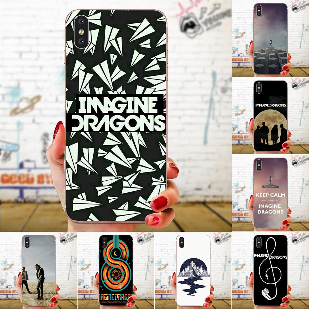 For Samsung Galaxy Note 5 8 9 S3 S4 S5 S6 S7 S8 S9 S10 5G mini Edge Plus Lite Soft Fashion Original Imagine Dragons Night Music image