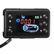 Переключатель управления 12V24V парковочный воздушный обогреватель автомобильный обогреватель переключатель аксессуары ЖК-монитор контроллер стояночного обогревателя