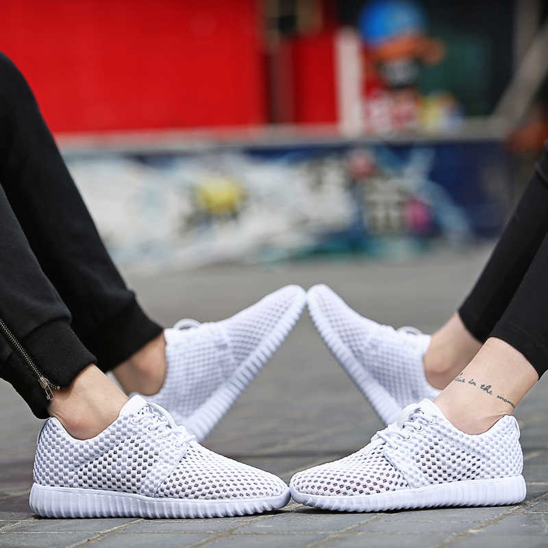 Phụ Nữ Giày Thoáng Khí Thời Trang Nữ Tenis Feminino Đèn Lưới Nữ Giày Đế Mềm Nữ Giao Hàng Nhanh Zapatos Mujer