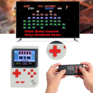 Image 4 - GC26 Portable Video Game Console Retro Handheld Mini Pocket Game Player Built in 500 Classic Games Gift for Child Nostalgic Play