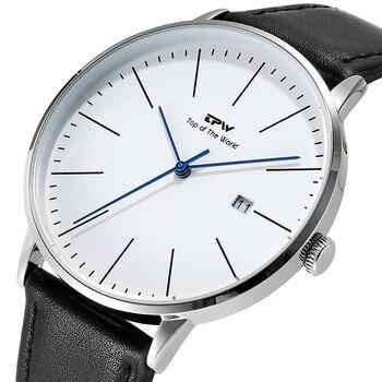 Повседневные мужские часы с календарем TPW